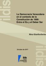 La democracia Venezolana en el contexto de la constitución de 1999