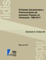 El estado decisionista y patrimonialista de inclusión popular en Venezuela