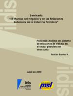 """Seminario """"El Manejo del Negocio y de las Relaciones Laborales en la Industria Petrolera"""""""