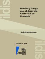 Petróleo y energía para el desarrollo alternativo de Venezuela
