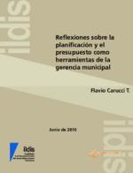 Reflexiones sobre planificación y el presupuesto como herramientas de la gerencia municipal