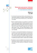 Elementos para pensar reformas de la economía venezolana 1/3