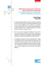 Elementos para pensar reformas de la economía venezolana 2/3