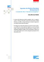 Apuntes de política petrolera Venezolana IV