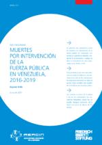 Muertes por intervención de la fuerza pública en Venezuela, 2016 - 2019